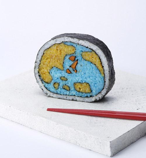 Sushi Roll Art by Japanese Artist Takayo Kiyota 003