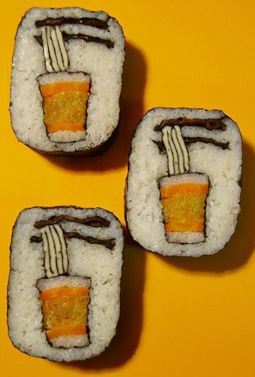 Sushi Roll Art by Japanese Artist Takayo Kiyota 006