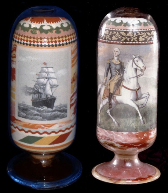 These Were Handmade in the 1800s by Layering Sand. No Glue was Used 002