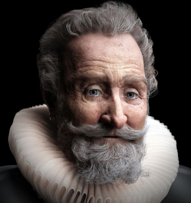 These pictures are realistic 3D renderings of real people 026