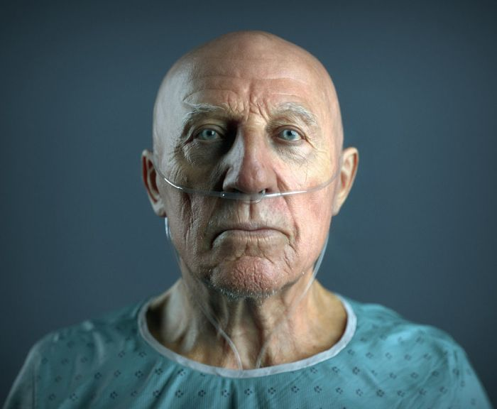 These pictures are realistic 3D renderings of real people 031