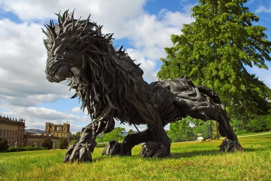 You Won't Believe What This Artist Did With Your Old Tires 001
