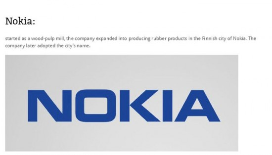 Did you know how these companies got their names 012
