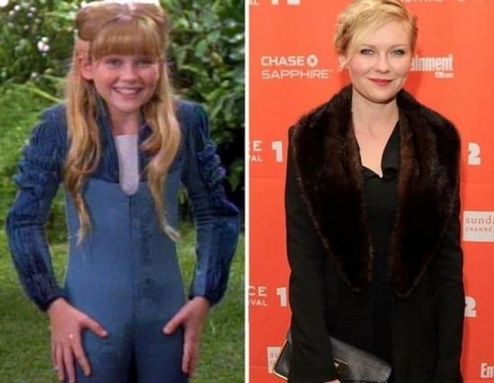 Kirsten Dunst – 1993 and now