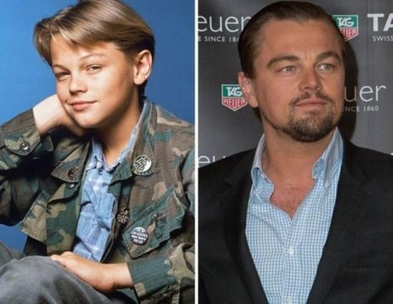 Leonardo DiCaprio – 1990 and now