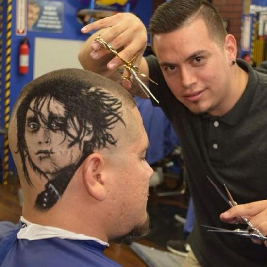 Modern art Haircuts by Rob the Original 001