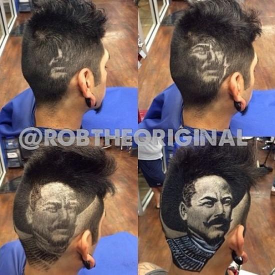 Modern art Haircuts by Rob the Original 007