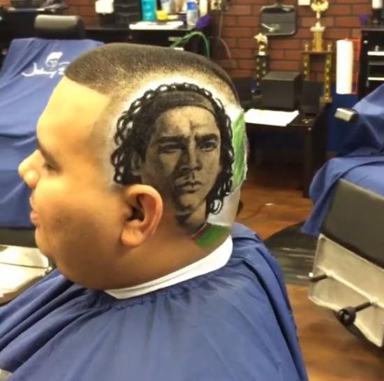 Modern art Haircuts by Rob the Original 008