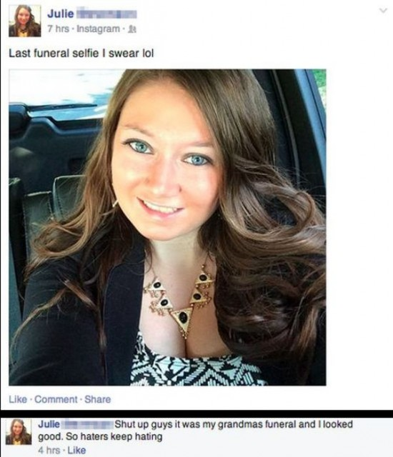 The Dumbest People Comment On Facebook 006
