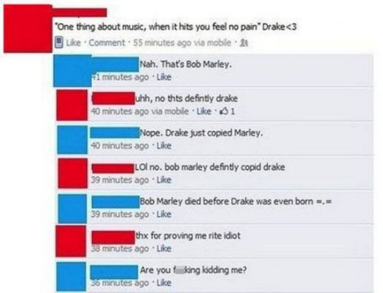 The Dumbest People Comment On Facebook 015