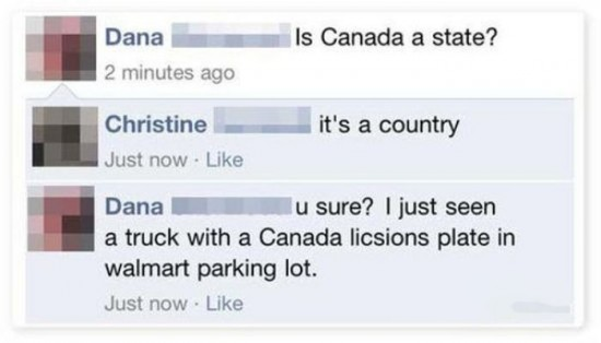 The Dumbest People Comment On Facebook 017