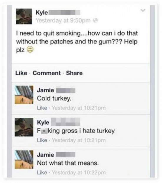 The Dumbest People Comment On Facebook 023