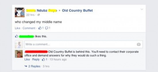 The Dumbest People Comment On Facebook 027