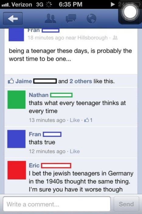 The Dumbest People Comment On Facebook 030