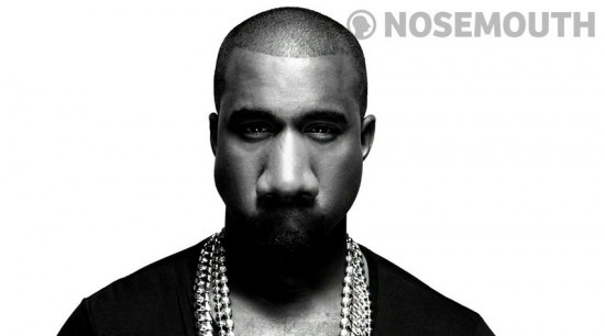kanye west nosemouth