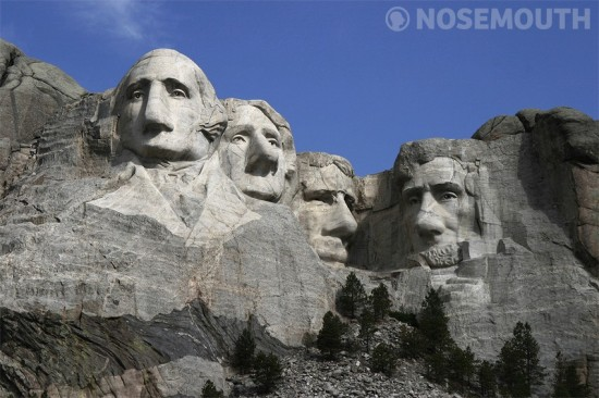 mount rushmore nosemouth