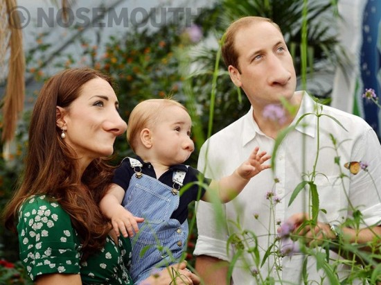 the royal family nosemouth