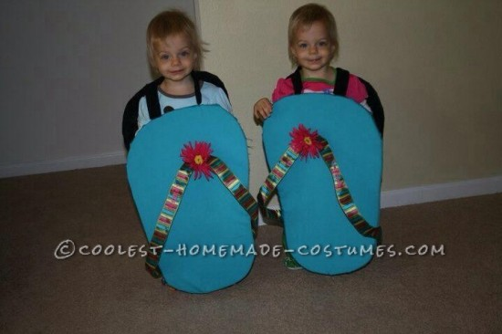 A Pair of Flip Flops halloween costume