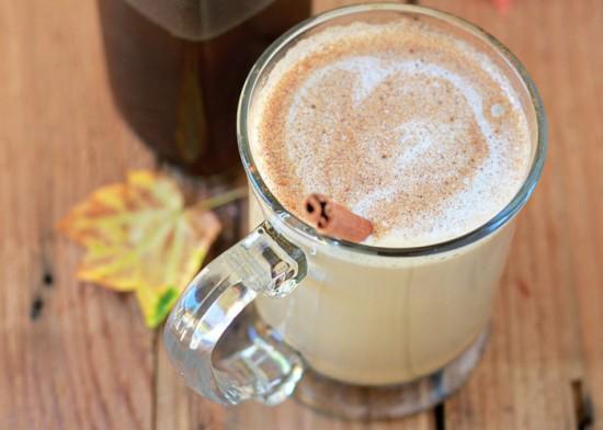 Homemade Pumpkin Spice Latte & Coffee Syrup