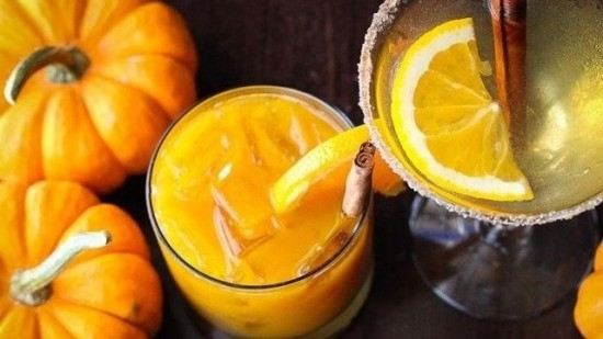 Pumpkin Flavored Cocktails for Fall