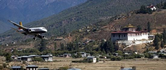 Paro Airport – Bhutan