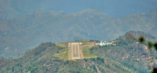 Shimla Airport, India