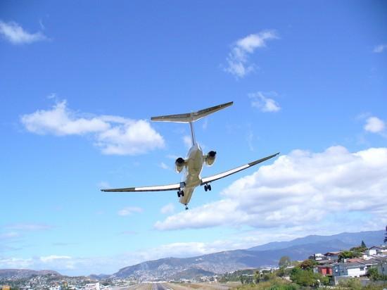Toncontín International Airport in Honduras