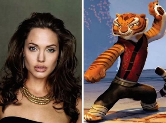 Angelina Jolie – Master Tigress from Kung Fu Panda