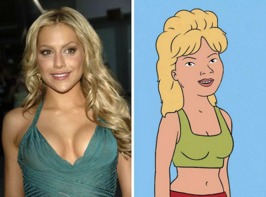 Brittany Murphy – Luanne Platter from King of the Hill