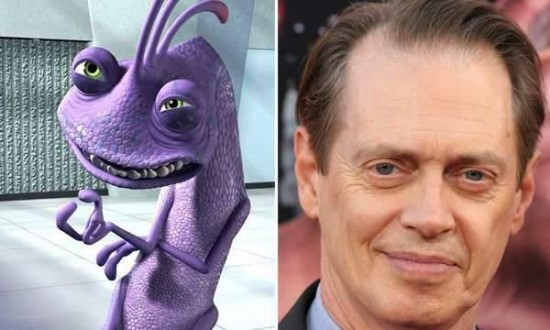 Steve Buscemi – Randall Boggs from Monsters Inc