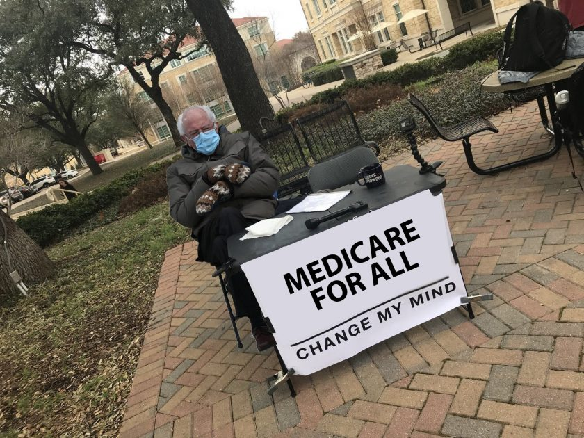 Bernie Change My Mind Meme