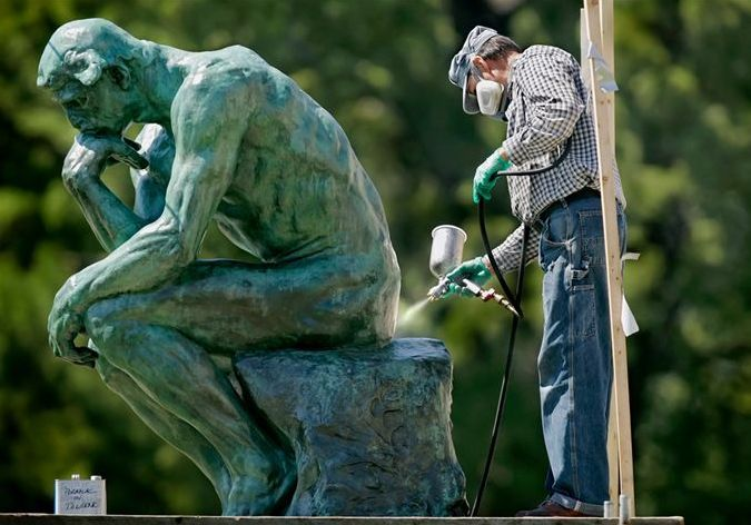 1158553662_podb43_11 - The Thinker, by Auguste Rodin - Photos Unlimited