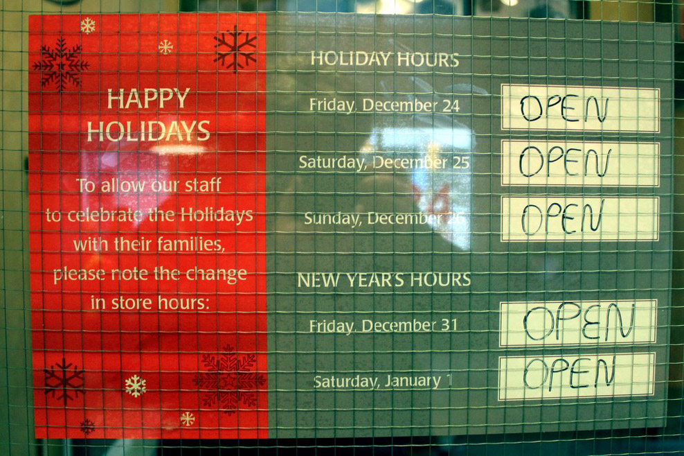 happy-holidays - Funny Signs - Jokes and Humor